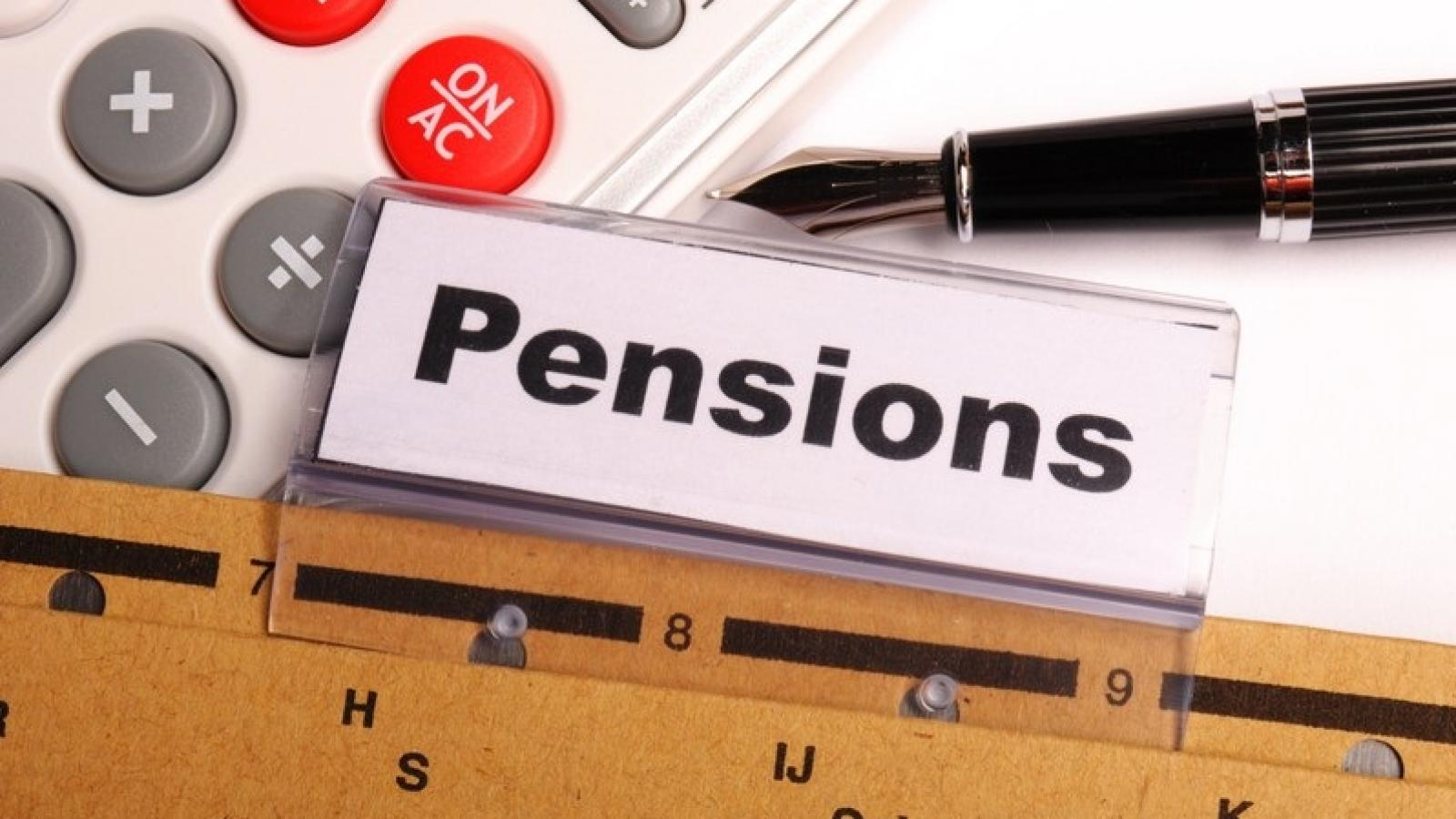 "File with the file name ""Pensions"""